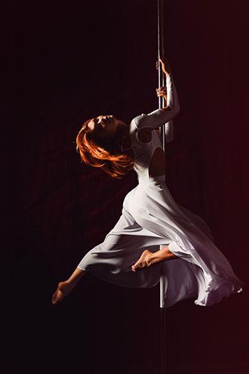 Idealna odzież pole dance