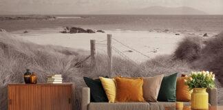 Wakacje przez cały rok, czyli fototapeta z plażą w aranżacji mieszkania